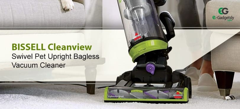 BISSELL-Cleanview-Swivel-Pet-Upright-Bagless-Vacuum-Cleaner