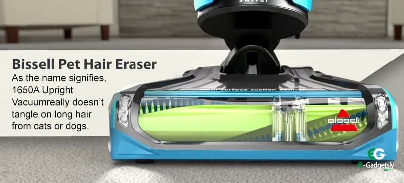 issell Pet Hair Eraser Upright Vacuum
