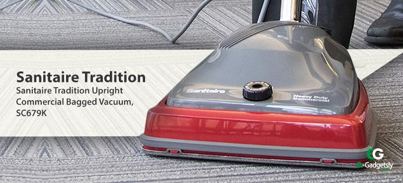Sanitaire-Tradition-Upright-Commercial-Bagged-Vacuum